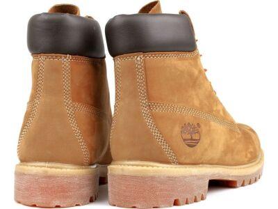 TIMBERLAND 6 In Premium Boot Men Wheat Nubuck