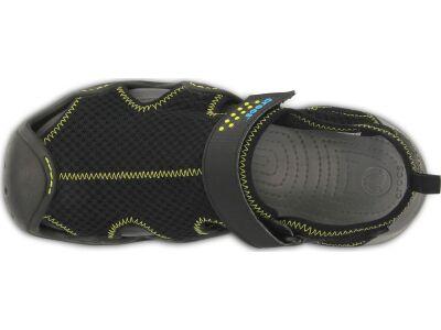 Crocs™ Swiftwater Sandal Black/Charcoal