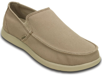 Crocs™ Santa Cruz Clean Cut Loafer Khaki/Cobblestone