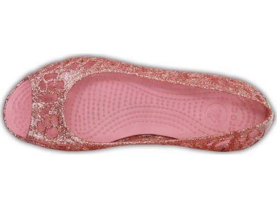 Crocs™ Isabella Glitter Flat GS Blossom