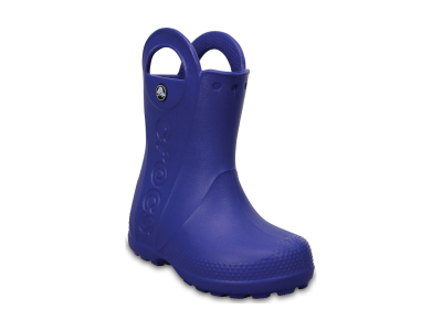 Crocs™ Kids' Handle It Rain Boot Cerulean Blue
