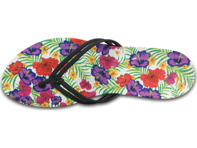 Crocs™ Isabella Graphic Flip Black/Floral