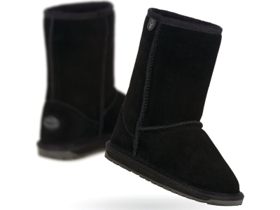 EMU Australia Wallaby Lo Teens Black