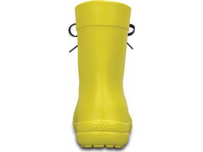 Crocs™ Freesail Shorty Rain Boot Lemon