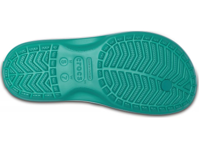Crocs™ Crocband™ Flip Tropical Teal/White