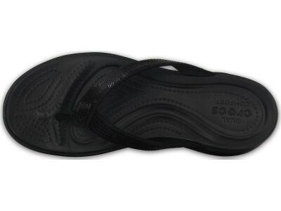Crocs™ Capri V Sequin Flip Black