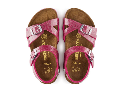 Birkenstock Rio Kids Magic Galaxy Bright Rose