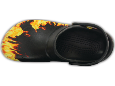 Crocs™ Bistro Graphic Clog Black