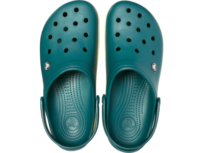Crocs™ Crocband™ Evergreen/Tennis Ball Green