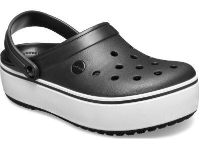 Crocs™ Crocband Platform Clog Black/White