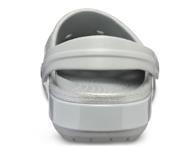 Crocs™ Crocband Glitter Clog Silver