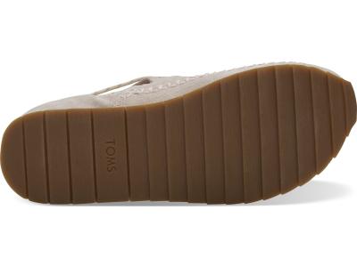 TOMS Suede Water Resistant Women's Rio Sneaker Blush