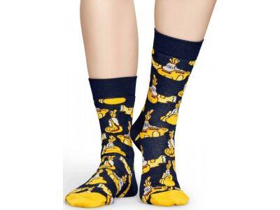 Happy Socks Yellow Submarine Sock Black/Yellow