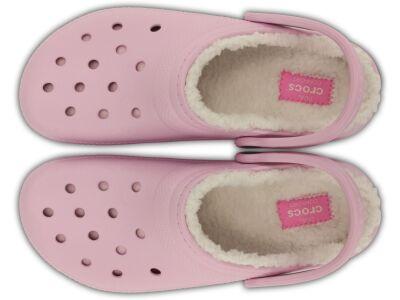 Crocs™ Classic Lined Clog Ballerina Pink/Oatmeal