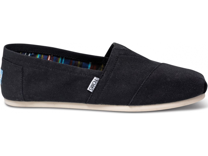 TOMS Canvas Men's Classic Alpargata Nl Black