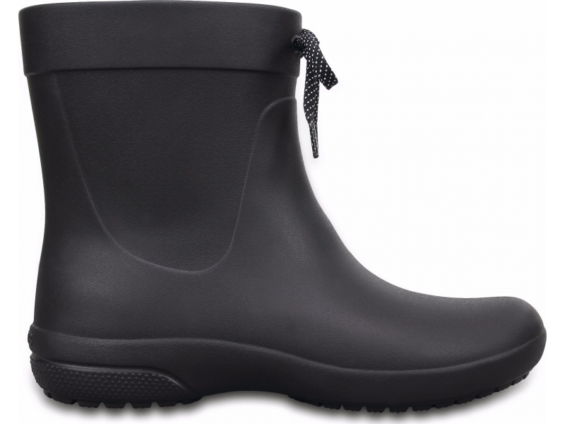 Crocs™ Freesail Shorty Rain Boot Black