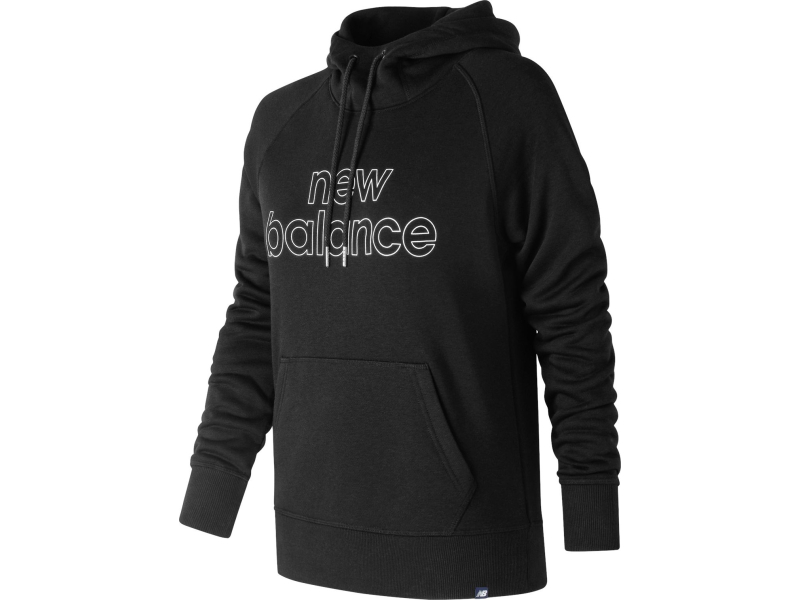 New Balance Essentials Pullover Hoodie Black
