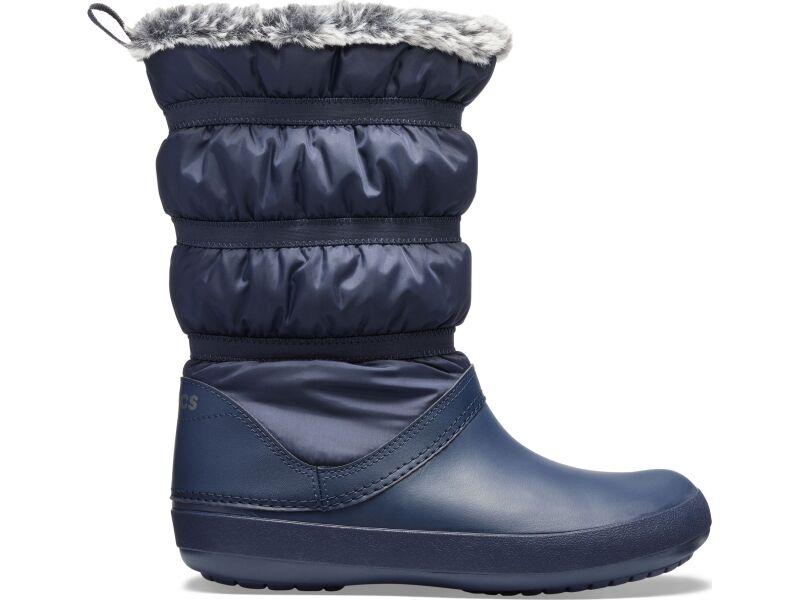 Crocs™ Women's Crocband Winter Boot Navy