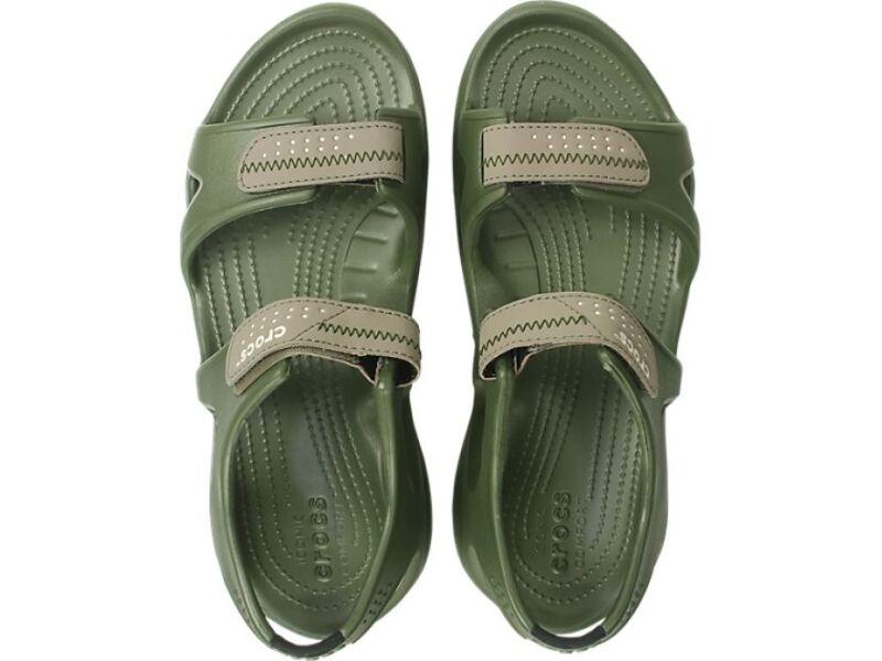 Crocs™ Swiftwater River Sandal Army Green/Khaki