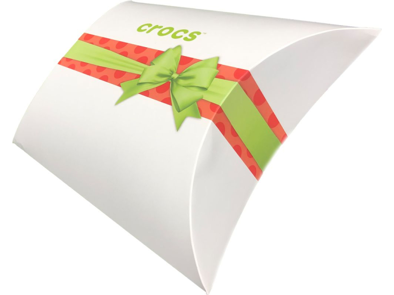 Christmas paper box CROCS White