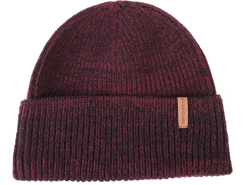 New Balance Watchman's Winter Beanie NB Burgundy
