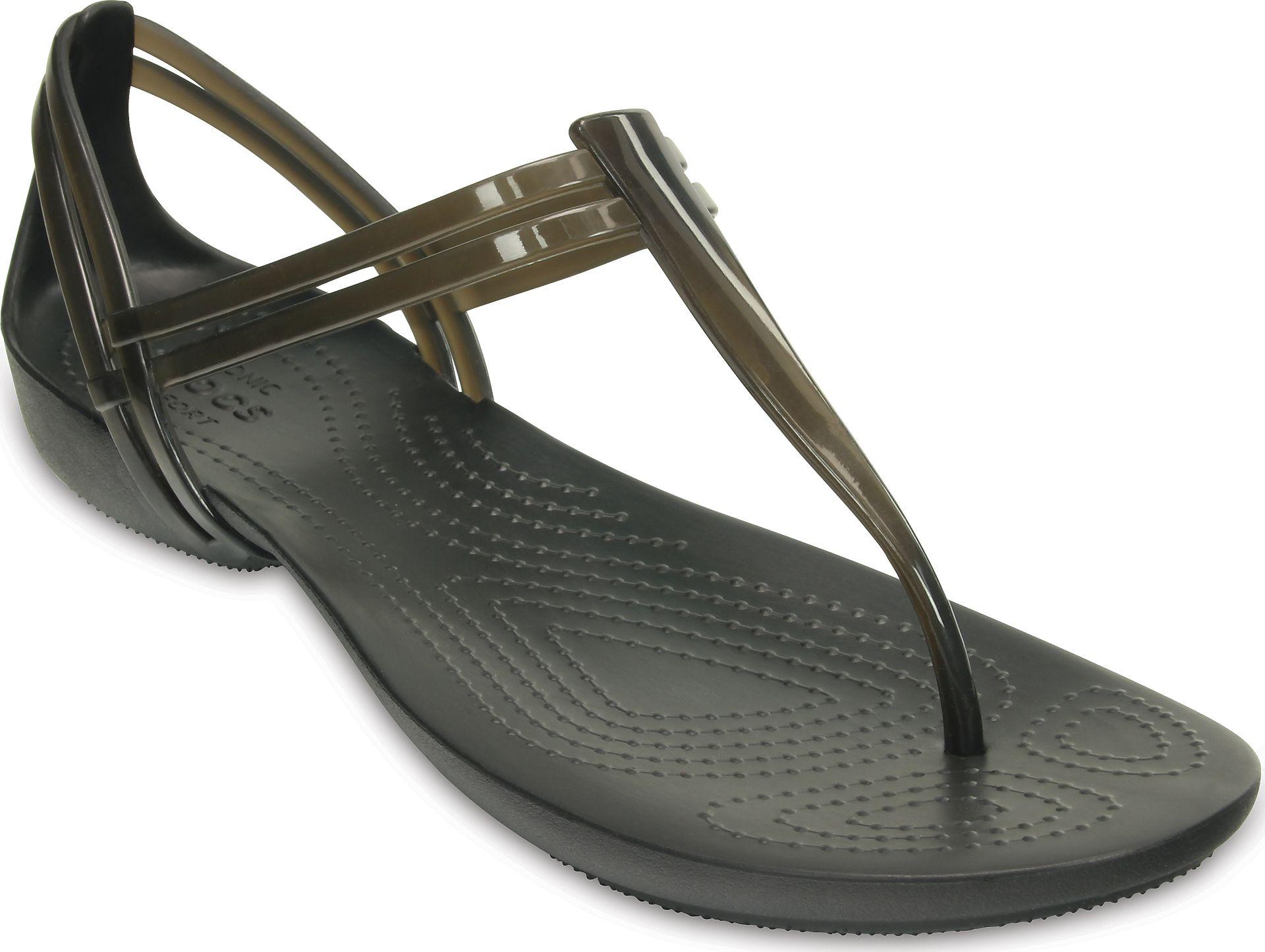 wyprzedaż w sklepie wyprzedażowym online tutaj klasyczne buty Crocs™ Isabella T-Strap | OPEN24.PL