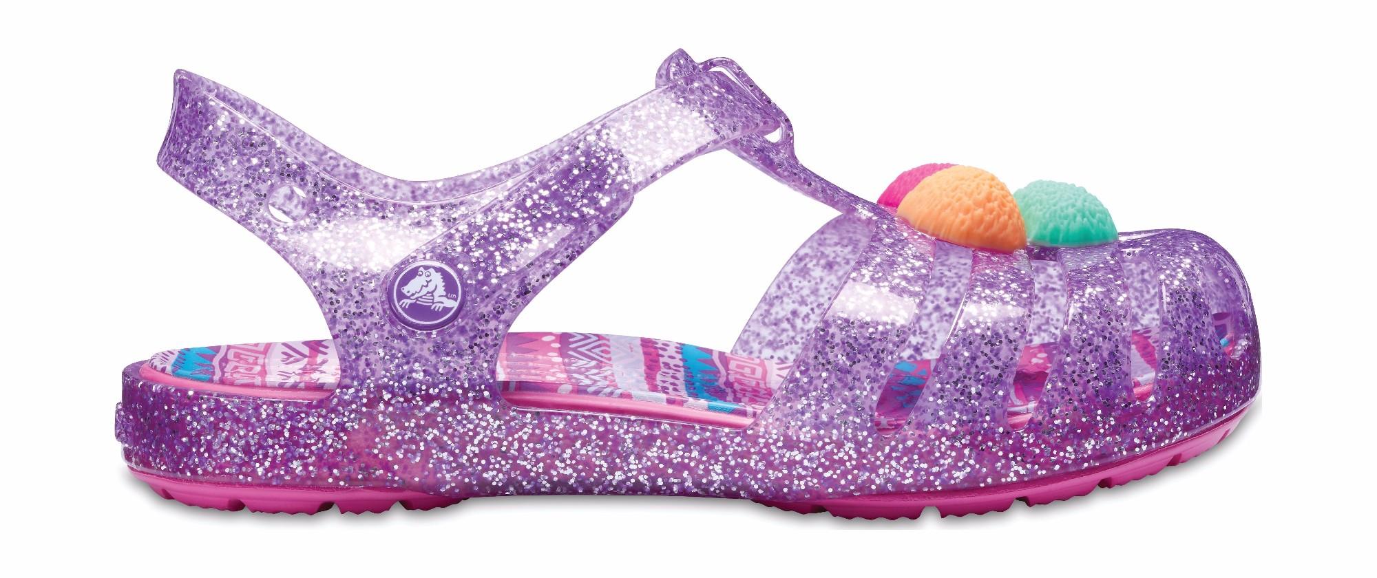 e9d8cb8bc Crocs™ Kids  Isabella Novelty Sandal Neon Purple ...