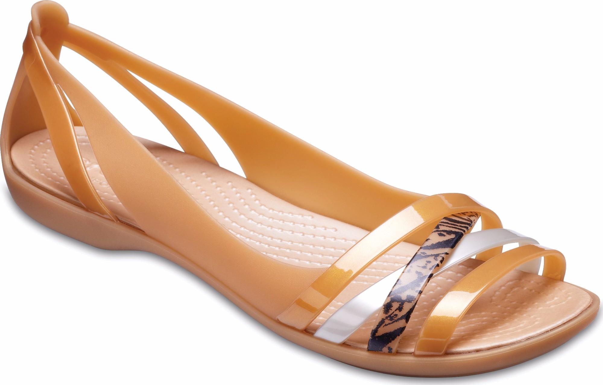 fd189ec61a20 Crocs™ Isabella Graphic Huarache II Flat