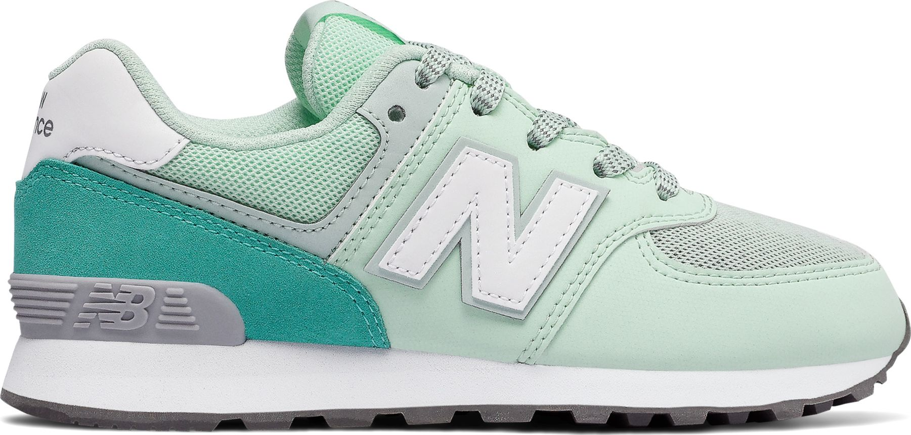 4feb4b5c0fc New Balance GC574 Green White ...