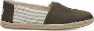 TOMS Canvas Ivy League on Rope Men's Alpargata Tarmac