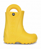 Crocs™ Kids' Handle It Rain Boot Yellow