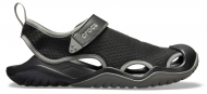Crocs™ Swiftwater Mesh Deck Sandal Men's Black