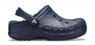 Crocs™ Baya Lined Clog Kid's Navy/Navy