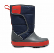 Crocs™ Lodgepoint Snow Boot Kid's Navy/Slate Grey