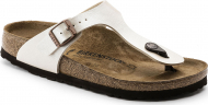 Birkenstock Gizeh Graceful Graceful Pearl White