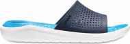 Crocs™ LiteRide Slide Navy/White
