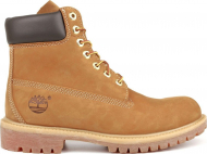 TIMBERLAND 6 In Premium Boot Men Wheat Nubuck