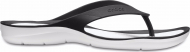 Crocs™ Women's Swiftwater Flip Black/White