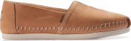 TOMS Leather Women's Alpargata Honey