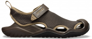 Crocs™ Swiftwater Mesh Deck Sandal Men's Espresso