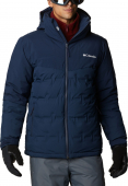 Columbia Wild Card Down Jacket Men's Collegiate Navy