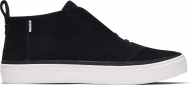 TOMS Suede Women's Riley Sneaker Black