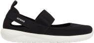 Crocs™ Literide Mary Jane Womens Black/White