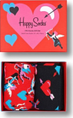 Happy Socks 2-Pack I Love You Socks Gift Set Multi 4300