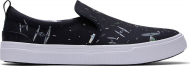 TOMS Star Wars Space Print Men's Trvl Lite Slip-On Black