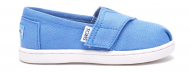 TOMS Canvas Kid's Classic Alpargata Regatta Blue
