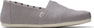 TOMS Morning Dove Heritage Canvas Men's Alpargata Grey