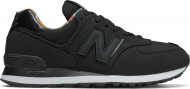 New Balance ML574 Leather Black