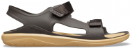 Crocs™ Swiftwater Molded Expedition Sandal Espresso/Tan