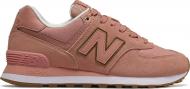 New Balance WL574 Nubuck Red